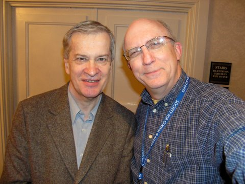 Richard Dyer and Jeremy Butler, Society for Cinema and Media Studies conference, 9 March 2007
