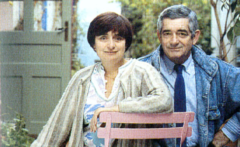 Agnès Varda and Jacques Demy
