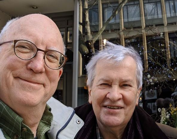 Jeremy Butler and Richard Dyer. London, March 2019.